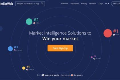 SEO-Tool von similarweb.com