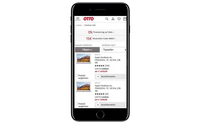 Responsive Mobile AdWords Landingpage