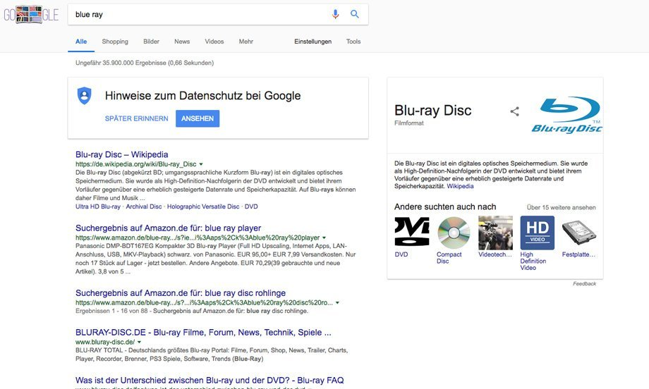 Google Featured Snippet mit Bildern