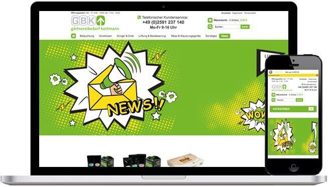 Der grüne Daumen – GBK Shop
